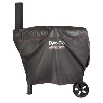 Dyna-Glo 51 in. Barrel Charcoal Grill Cover, Black