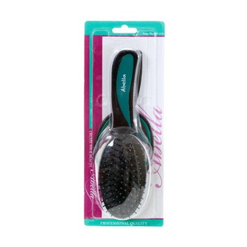 Abella Oval Cushion Brush and Mirror Set, Assorted Colors