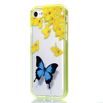 Urberry Iphone 7 Case, 4.7 inch Iphone 7 Case, Autumn Leaf and Butterfly Case with a free Screen Protector