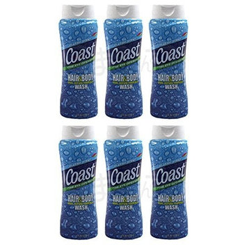 Coast Pacific Force Hair N Body Wash 18 Oz by Coast