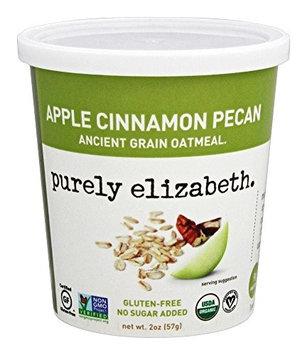 Purely Elizabeth Ancient Grain Oatmeal Apple Cinnamon Pecan 2 oz - Vegan