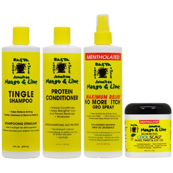 Jamaican Mango & Lime Cooling Scalp Care 4 Pieces 'Set' (Pack of 4)