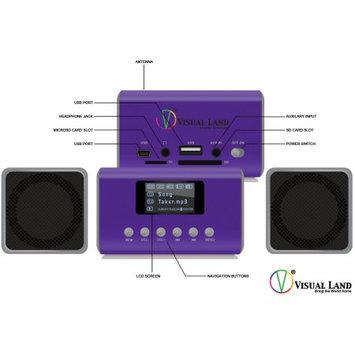 Visual Land ME909 MP3 Mini Boombox