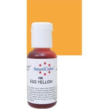 Americolor Soft Gel Paste Food Color.75-Ounce, Egg Yellow