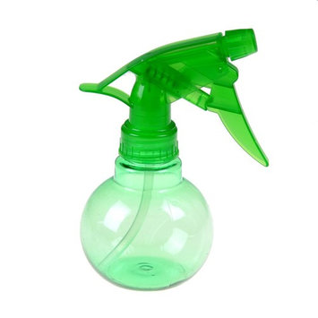 JiaUfmi Plastic Spherical Shape Spray Bottle Water Plant and Hair Art Beauty Salon Supply