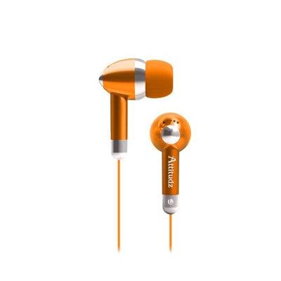 Coby CVE53ORG Noise-Isolation Stereo Earphones, Orange