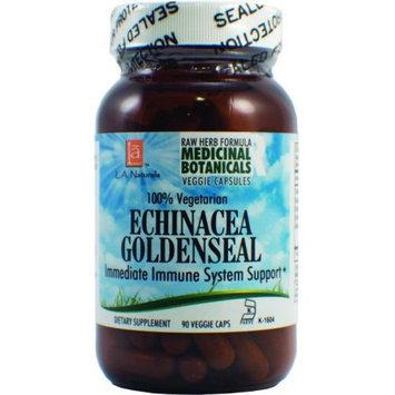 L A Naturals Echinacea Goldenseal Raw Formula 90 VGC