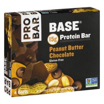 PROBAR Base Protein Bar Peanut Butter Chocolate - 4 CT