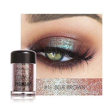 Lookatool Focallure 12 Colors Eye Shadow Makeup Pearl Metallic Eyeshadow Palette