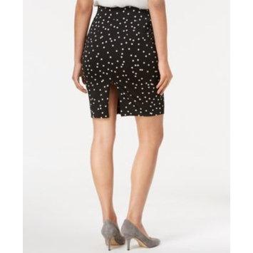 Petite Dot-Print Pencil Skirt, Created for Macy's