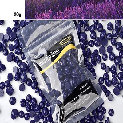 Baomabao 20g Hair Removal Hard Wax Beans Hard Body Wax Beans No Strip Depilatory Hot Film Hard Wax Pellet Waxing