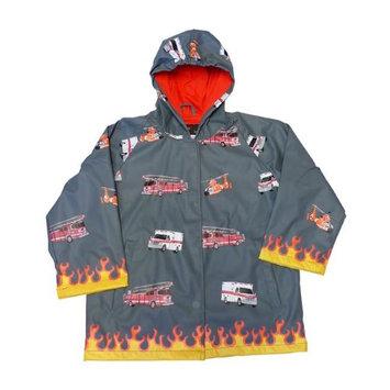Foxfire FOX-601-85-3T Childrens Fire Rescue Rain Coat - Size 3T
