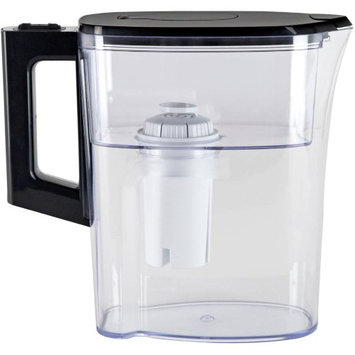 Vitapur 6-Cup Water Filtration Pitcher, Clear