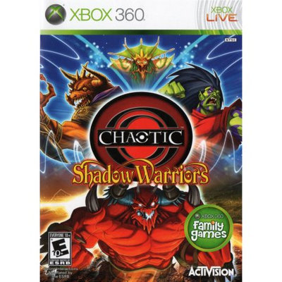 Activision 047875760493 Chaotic Shadow Warriors for Xbox 360 Game