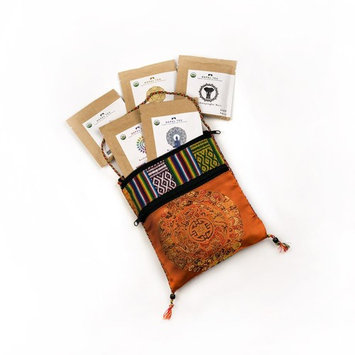 Nepal Tea - 11 ct. Sampler Travel Pouch (Orange) Loose Leaf Tea, Certified Organic, 4.5 Oz. (Approx. 22 Cups)