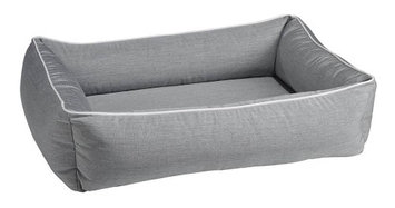 Bowsers Pet Products Bowsers Urban Lounger Pet Bed Heather Grey, Size: Small