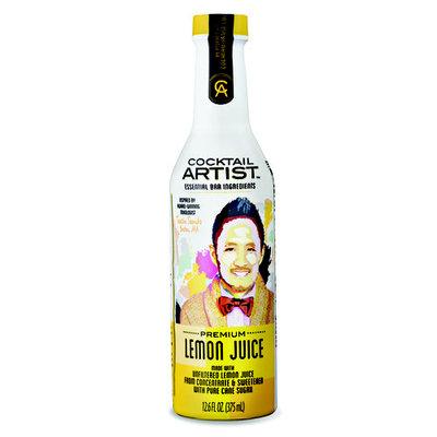 Cocktail Artist Essential Bar Ingredients Premium Juice, Lemon, 12.6 Fl Oz, 1 Count