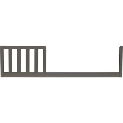 Ti Amo Castello Toddler Guard Rail in Brushed Grey