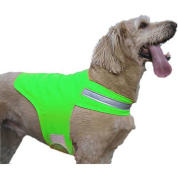 Dog Not Gone Tick and Insect Repelling X Large Safety Dog Vest, Green