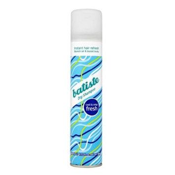 Batiste Dry Shampoo, Fresh Fragrance, 6.73 Ounce