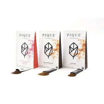 Pique Organic Black Tea Crystals Sampler, Antioxidants, Energy, Gut Health, 42 Single Serve Sticks (Pack of 3)
