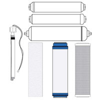 Abundant Flow Water RO Zoi Pi Pure Filter Kit (incl. UV Bulb)