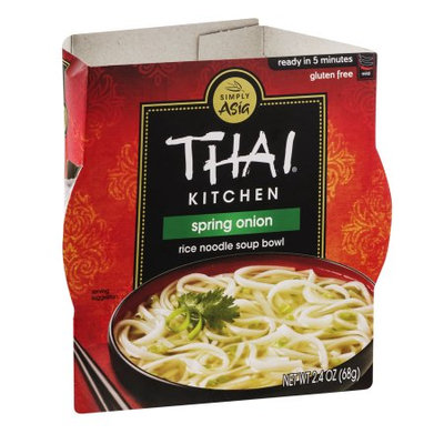 Thai Kitchen Spring Onion Rice Noodle Soup Bowl, 2.4 OZ (Pack of 4)