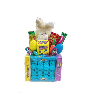 Gifts2gonow Easter Bunny Peeps Candy Basket