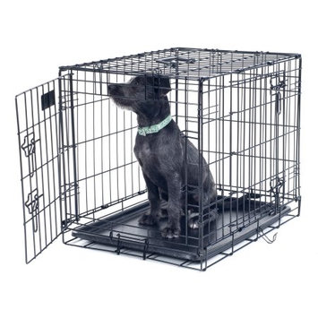 Petmaker Medium 2 Door Foldable Dog Crate Cage - 30' x 19'