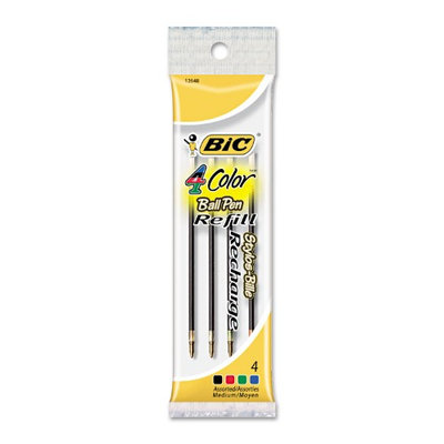BIC Refills for BIC 4-Color Retractable Ballpoint Pen