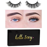 Icona Lashes Premium Quality False Eyelashes | Make Him Miss Me | Wispy & Flirty | Non-Magnetic | Natural Look and Feel | Reusable | 100% Handmade & Cruelty-Free | Signature Packaging