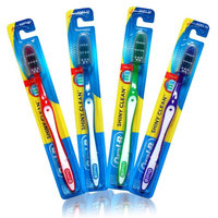Oral-B Shiny Clean Soft 35 Ergonomic Z Shaped Bristles Manual Toothbrush (Pack of 4)