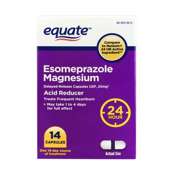 Aurohealth Llc Equate Esomeprazole Magnesium Capsules, 14 Count