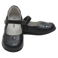L'Amour Black Polka Dot Mary Jane Shoes Toddler 5-Little Girls 2