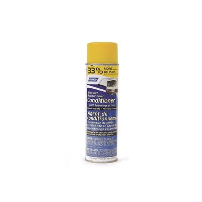 CAMCO Protects Slide Out Seals Against UV Damage and Decreases Friction During Operation; 16 Ounce Aerosol; With English/ French Language Packaging
