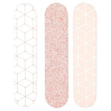 Mini Salon Board Nail File 3 Pack