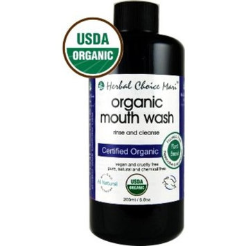 Herbal Choice Mari Organic Mouth Wash, 1:10 Concentrate; 6.8floz