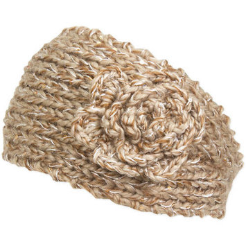 Magid Knit Headwrap, with Sequins