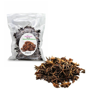 Anise Seeds(Anis Estrella) , Whole Chinese Star Anise Pods, Dried Anise Star Spice, (8 Oz)
