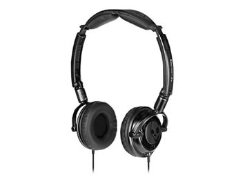 Skullcandy Lowrider Headset - Stereo - Black - Mini-phone - Wired - Gold Plated - Over-the-head - Binaural - Circumaural