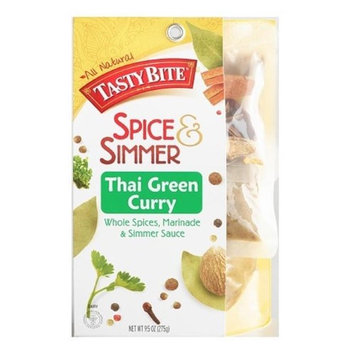 Tasty Brands BWA38603 5 x 9.5 oz Thai Green Curry Whole Spices & Simmer Sauce