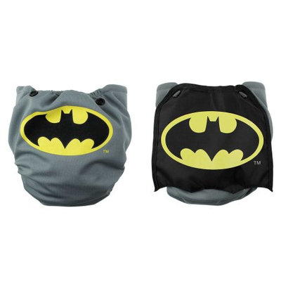 Bumkins DC Comics Batman Snap-In-One Cloth Diaper with Cape