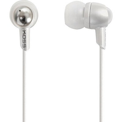 Koss-headphones Koss KEB30 Noise Isolating In-Ear Stereophone, White KEB30W