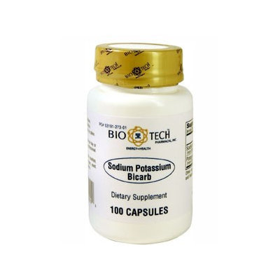 Sodium Bicarb/Potassium Bicarb 100 caps by Bio-Tech