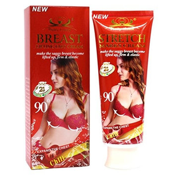 Breast Enlargement - Chest Enlargement - Breast Enhancement Massage Essential Cream Chest Lift up Chest Firm Enlargement - Lifting and Plumping