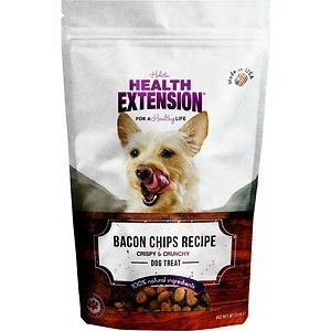 Health Extension Bacon Chips Dog Treats