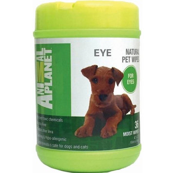 Animal Planet Specialty Wipes For Pet Eye Care 36/Pkg