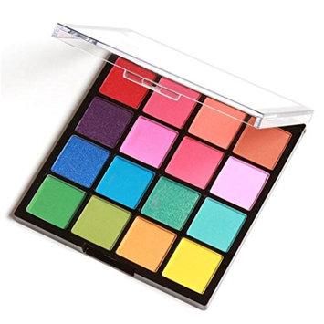 RNTOP 16 Colors Cosmetic Powder Smoky Eyeshadow Palette Makeup Set Matt Available