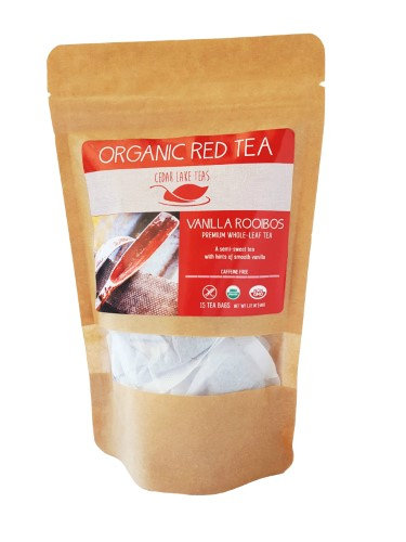 Cedar Lake Teas Organic Vanilla Rooibos