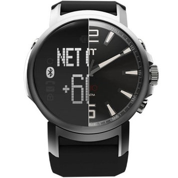Icon Health & Fitness, Inc. iFit Space Black Duo Mens Round Fitness Watch